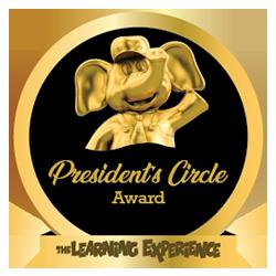 President's Circle Award  - 2018-2015