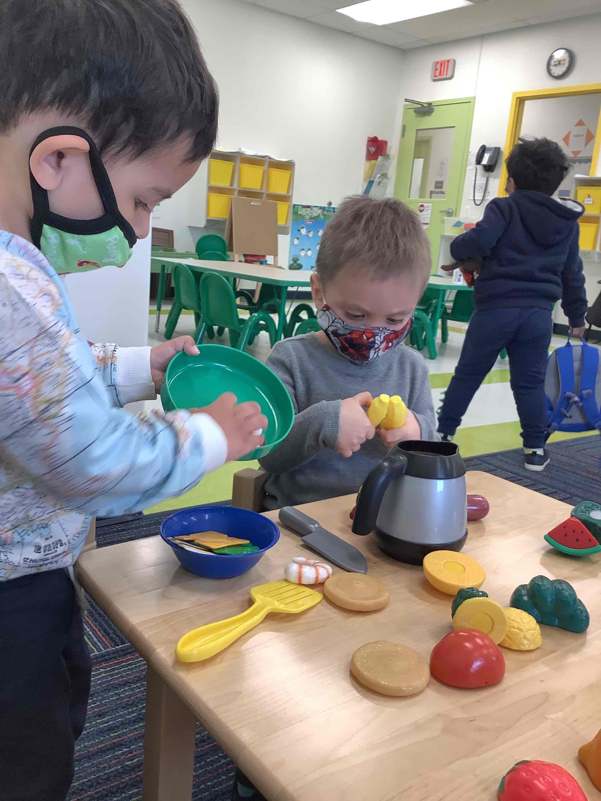 Preschoolers Active Play