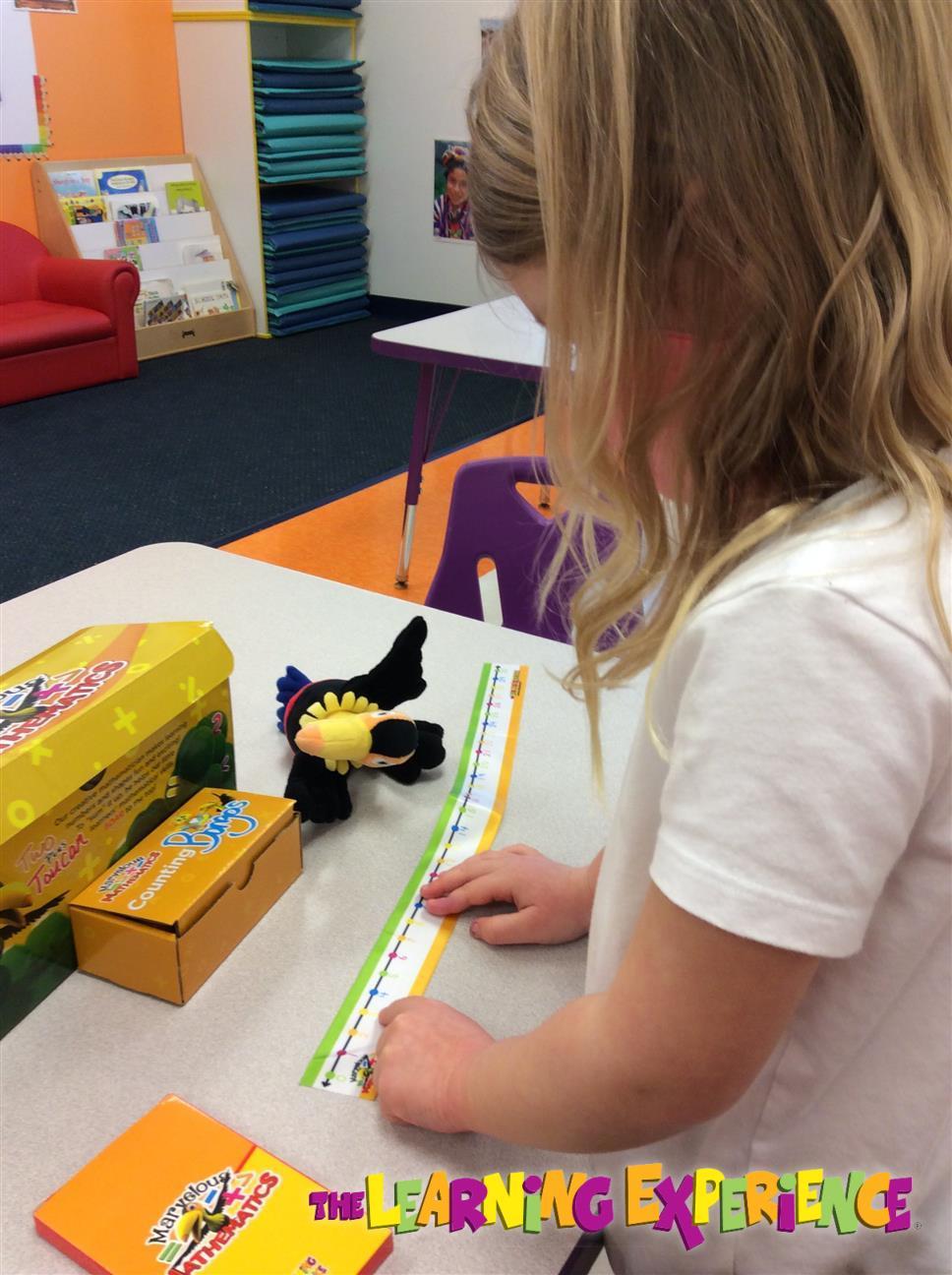 Enjoying our Marvelous Mathematics enrichment kits!