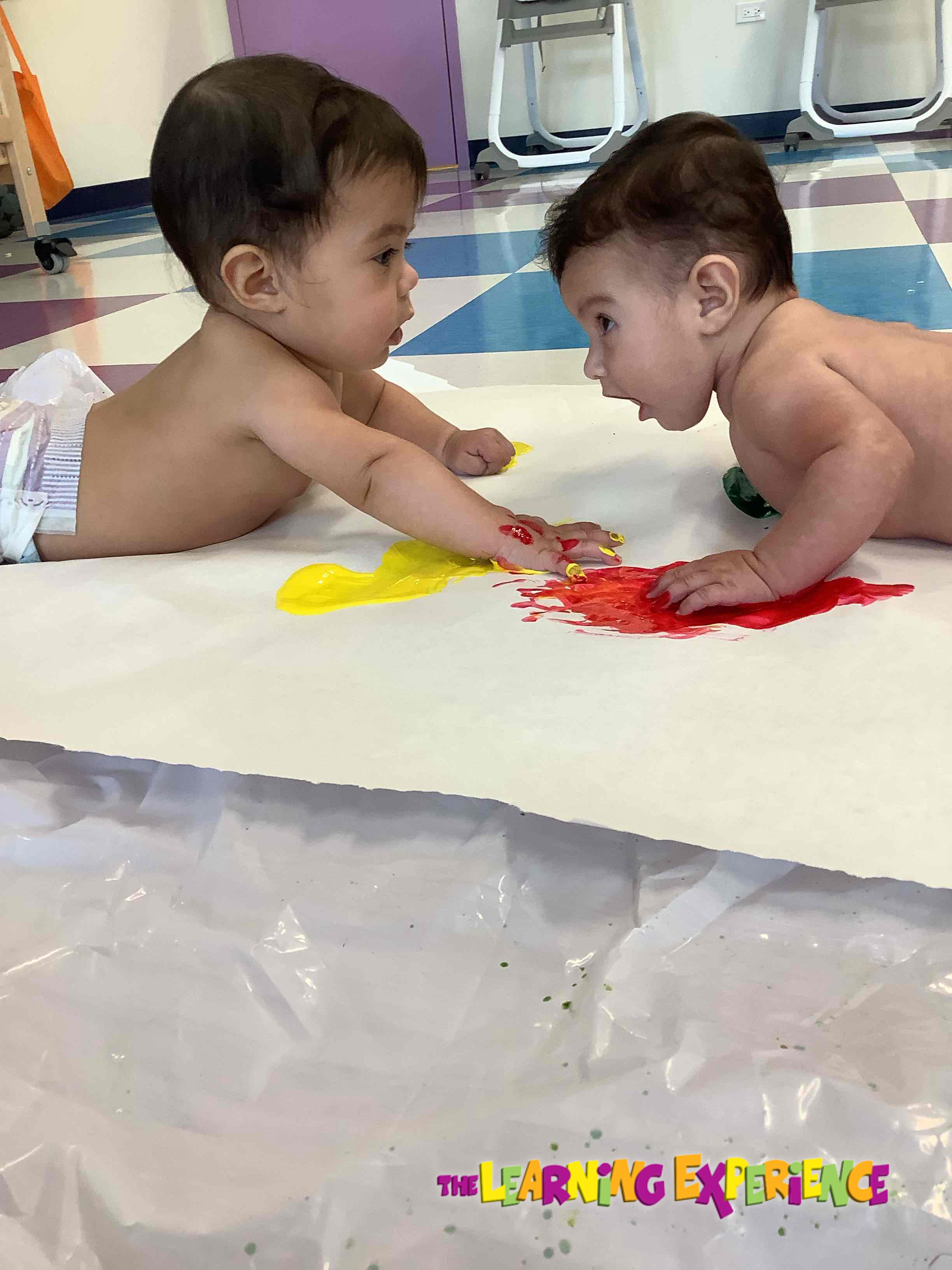Infant Painting Project