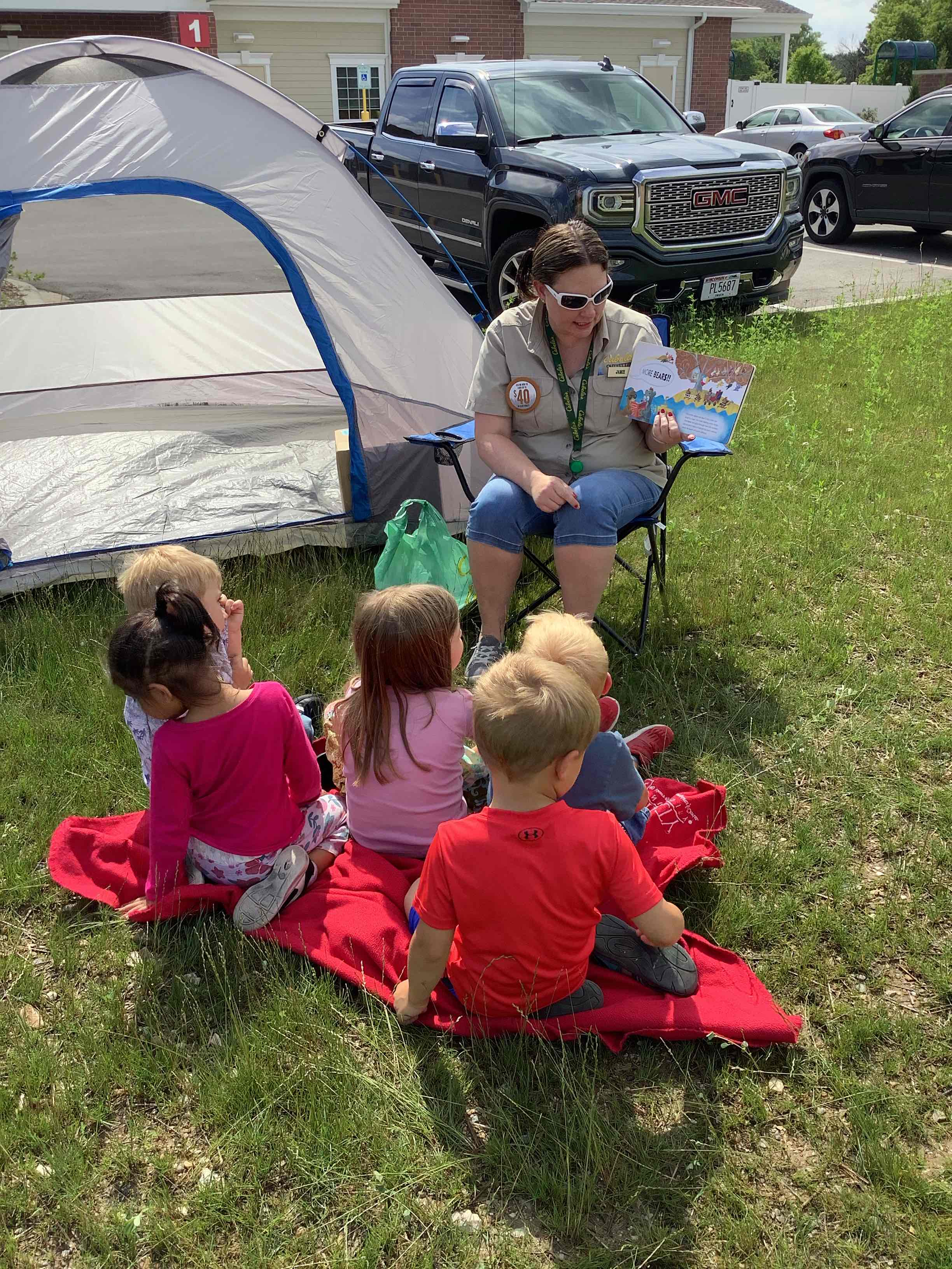 A Cabella's campfire story