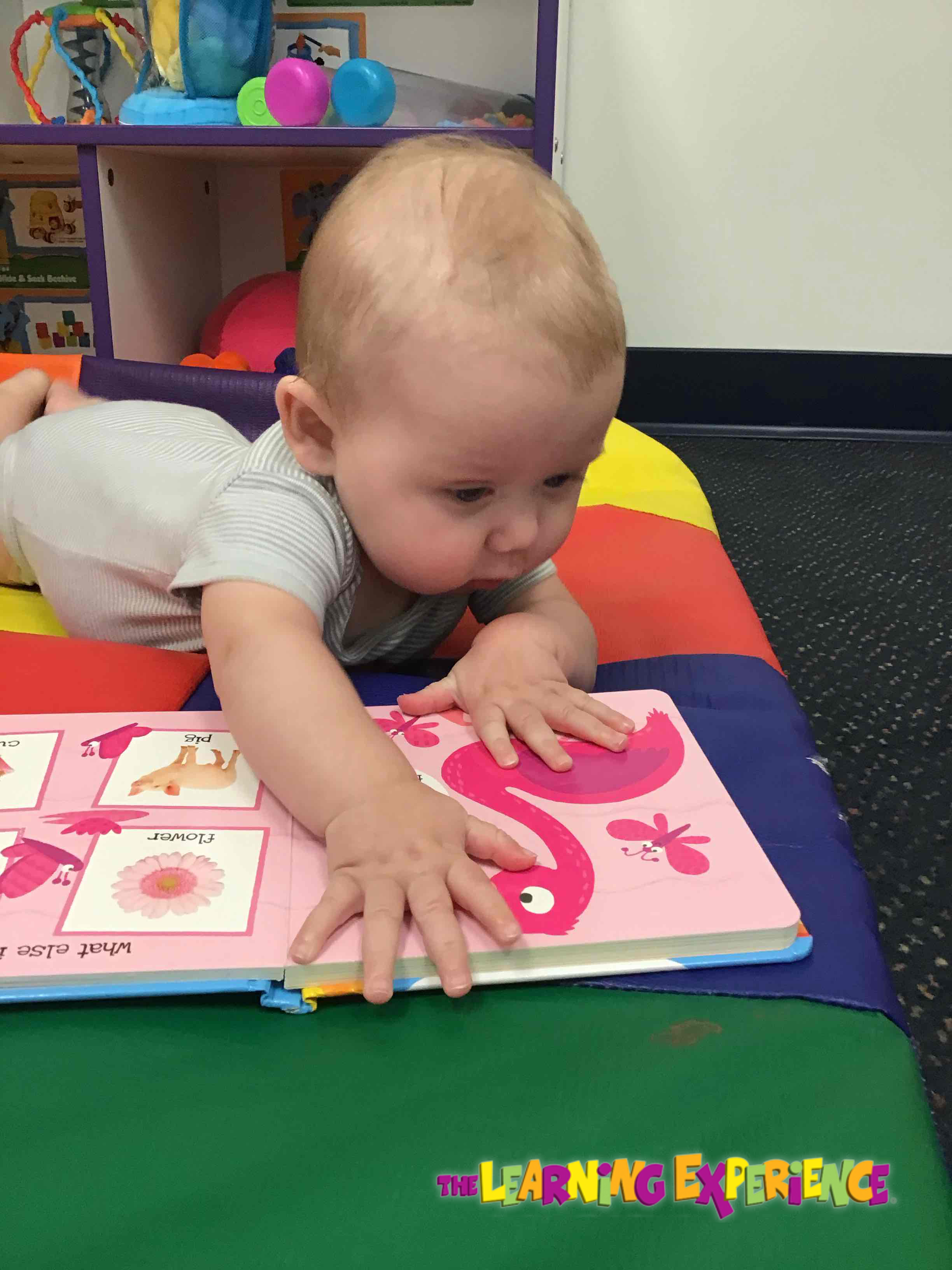 Reading is an important part to our infants day!