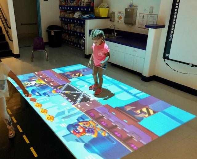 BEAM Interactive Projector games!