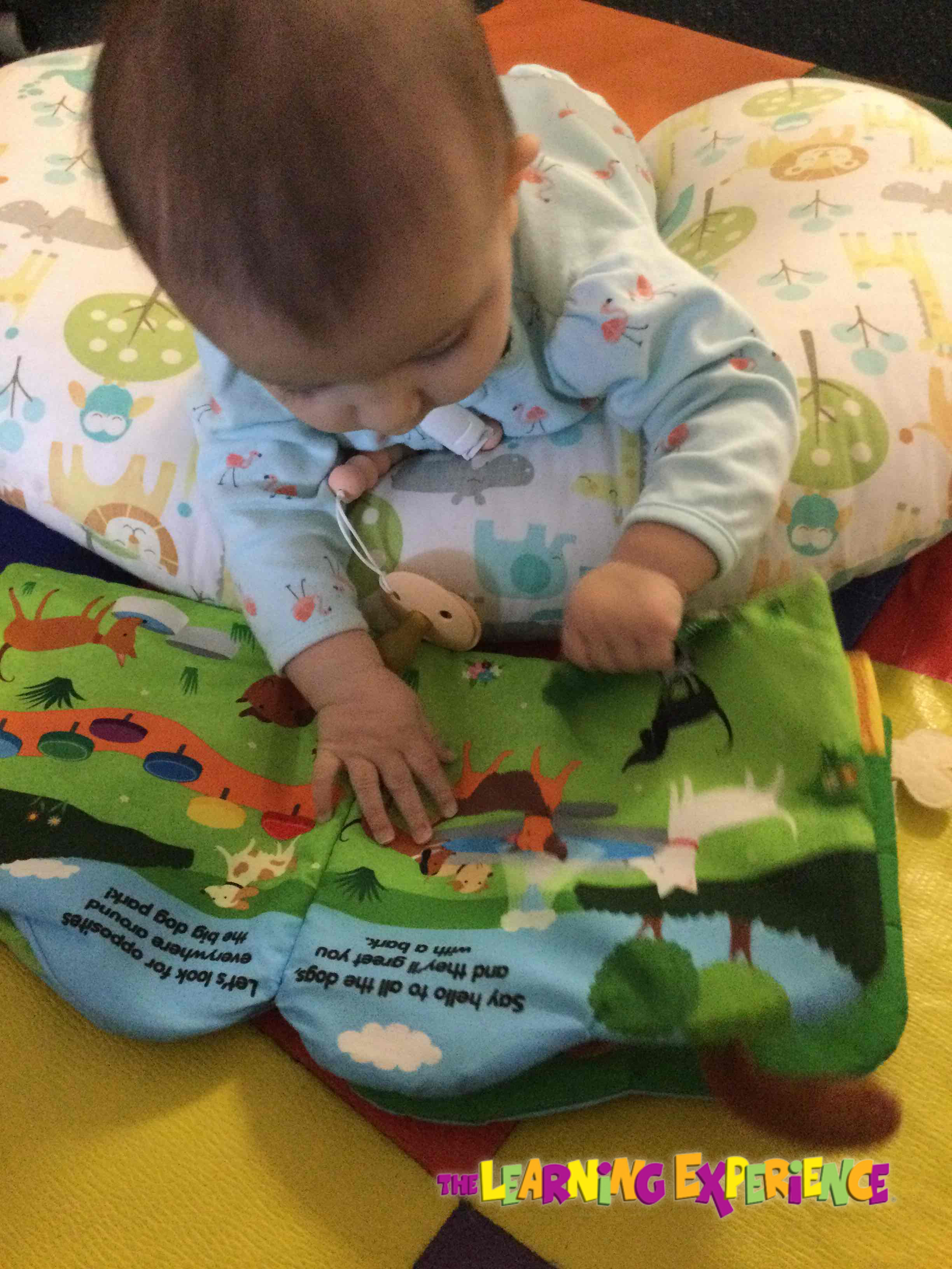 Tummy Time for our infants.