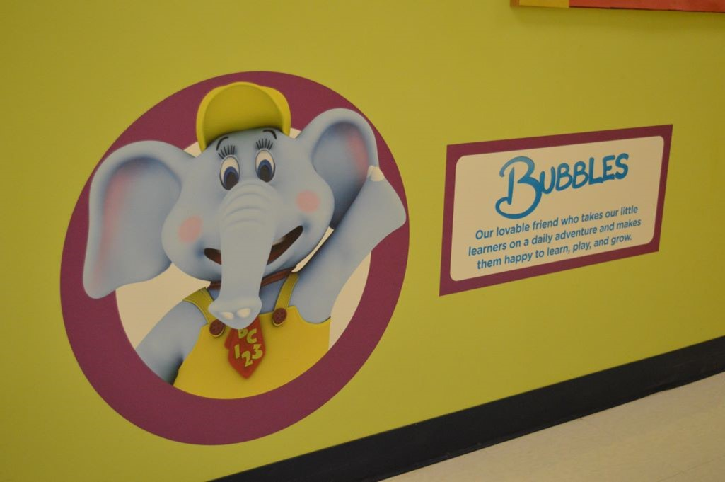 The Learning Experience at Mt Juliet Childcare Center, Preschool and Kindergarten Bubbles The Elephant.JPG