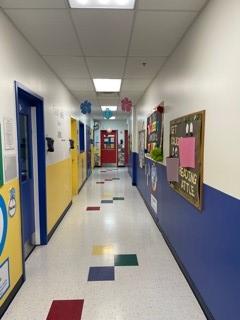 Preschool Hallway