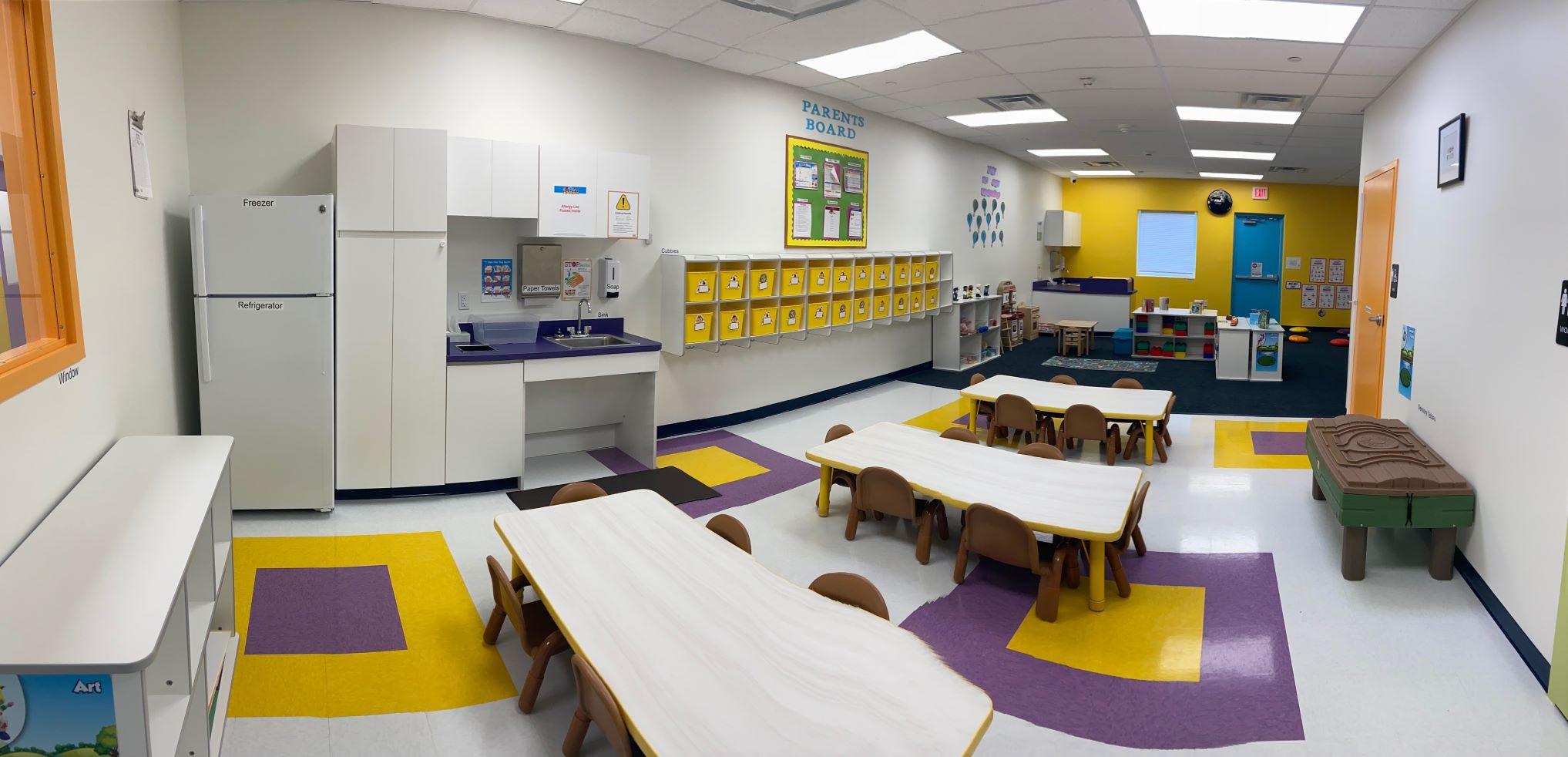 Twaddlers classroom