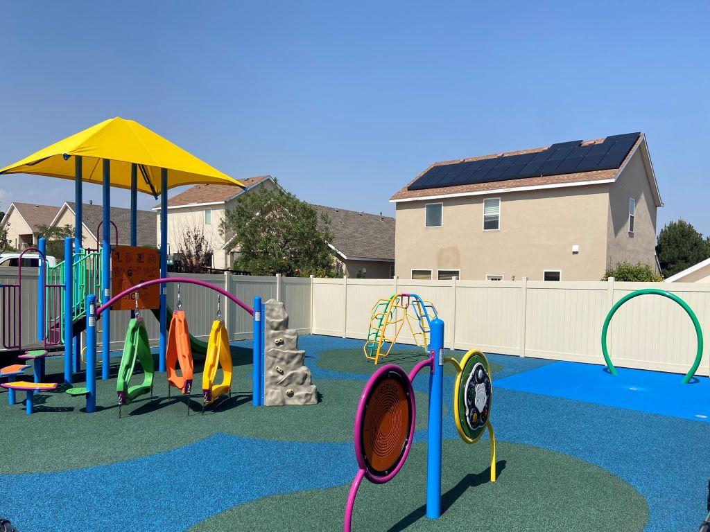 Playground and Splash Pad