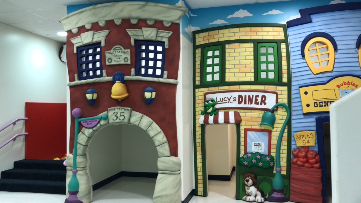 Potty trained room