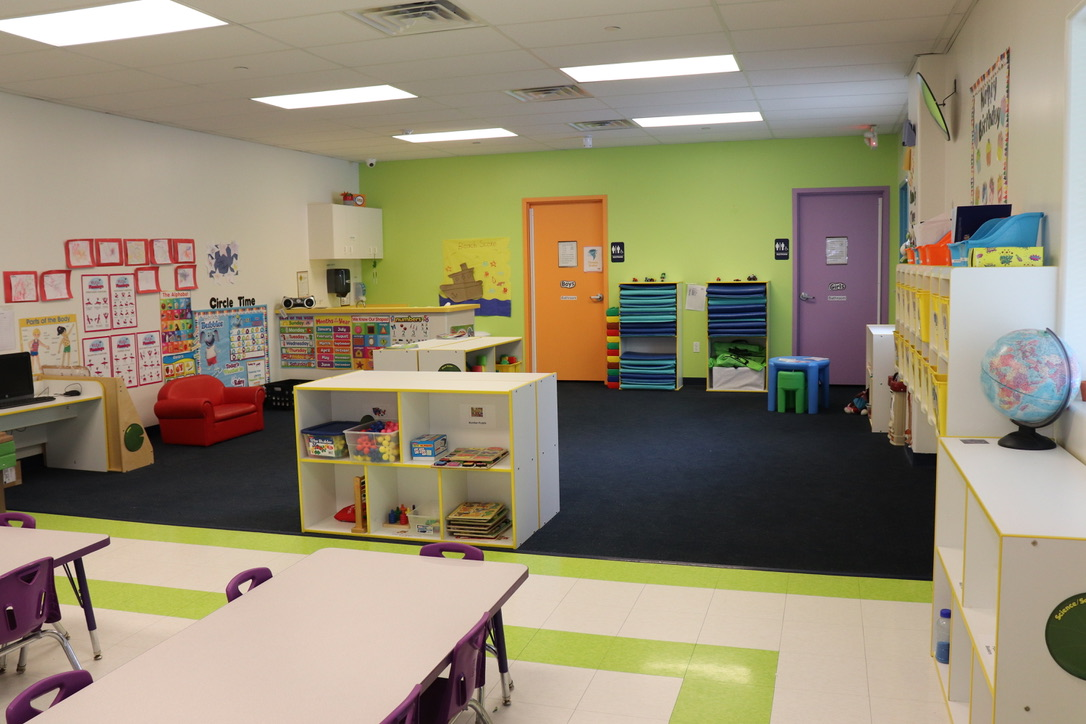 Prepper Room for 2 1/2 years old to 3 years old