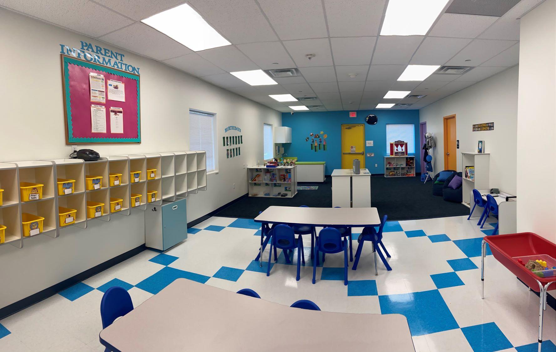 School_aged classroom