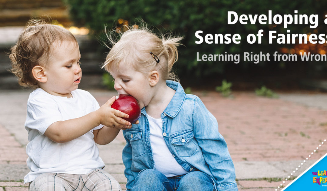 Developing a Sense of Fairness: Learning Right from Wrong