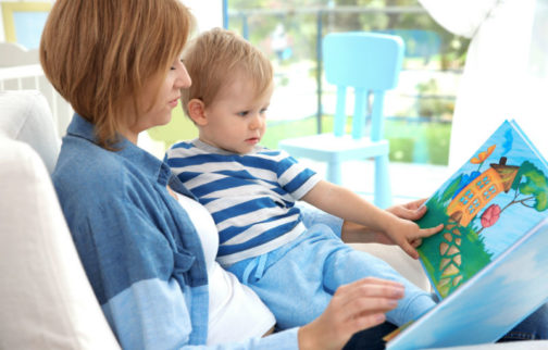 Early Literacy Reading At Home 504x322