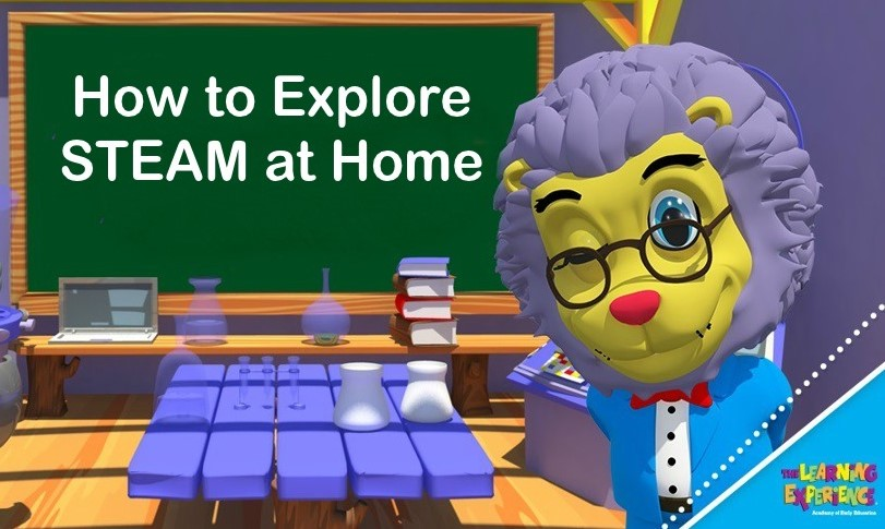How to Explore STEAM at Home