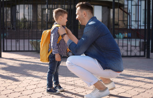 First Day At School Here Are 7 Tips To Help Your Child Settle In Quickly 504x322